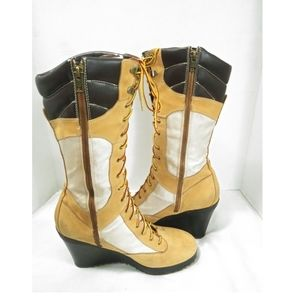 Timberland High Boot Wedge
